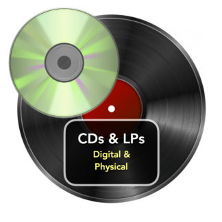 CDs, Digital CDs and LPs
